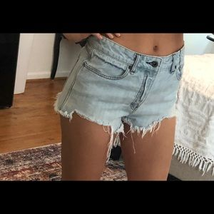 Free people shorts size 29